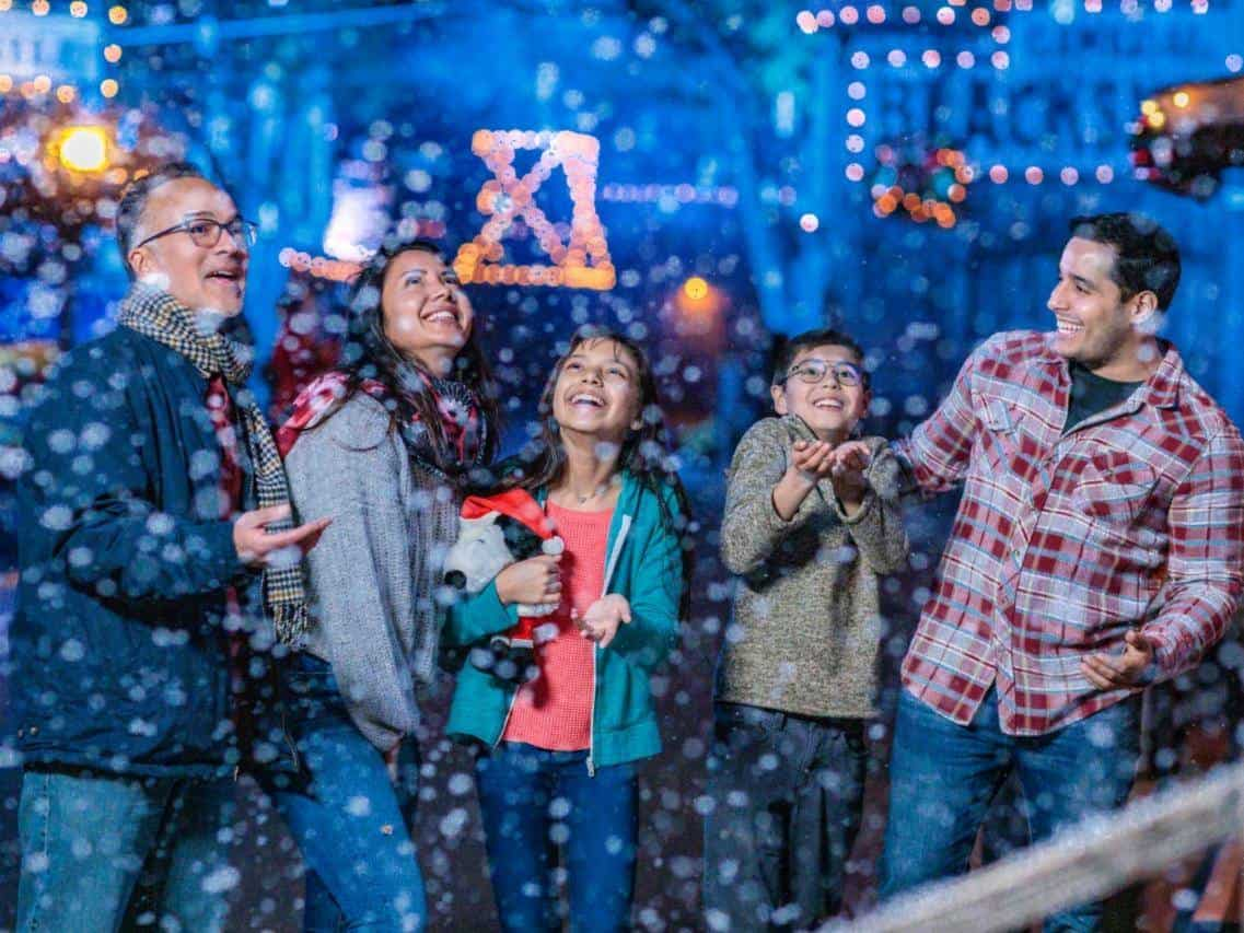 Snow and Glow at Knott's