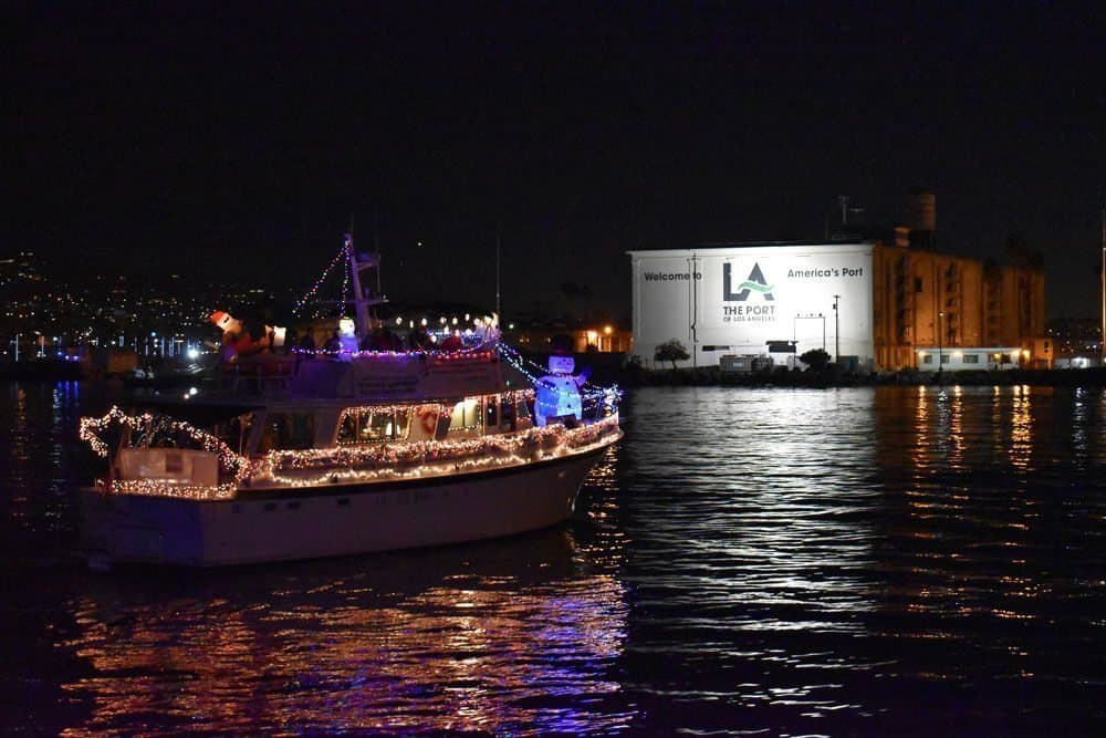 LA Harbor Holiday Boat Parade