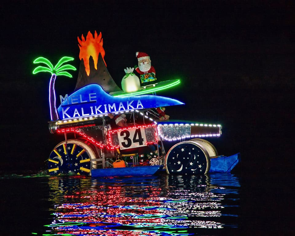 Ventura Harbor Parade of Lights