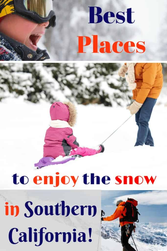 Are you planning a vacation to California in the winter to go snow skiing, snowboarding or simply to play in the snow? Then check out this list of The Best Places To Enjoy The Snow in Southern California!