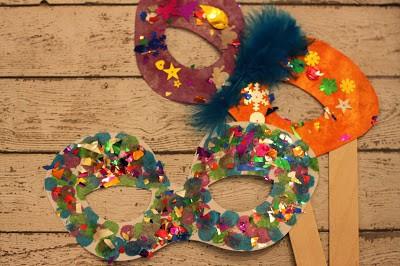 Kids Masks Craft Idea