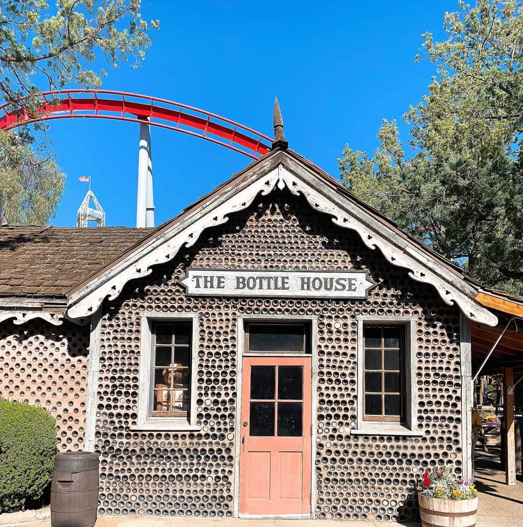 Bottle House at Knott's Berry Farm