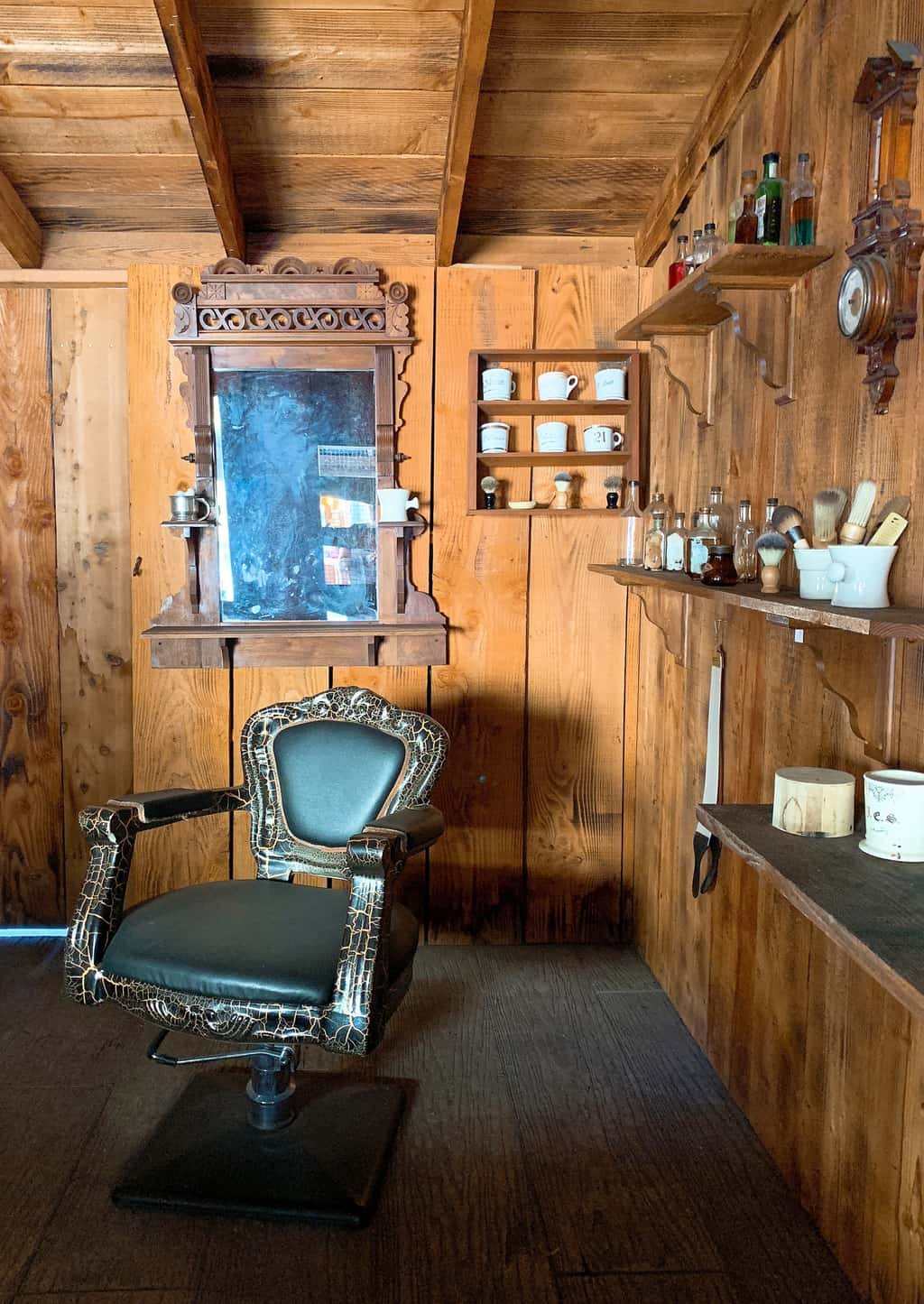 Barber Shop at Knott's Berry Farm