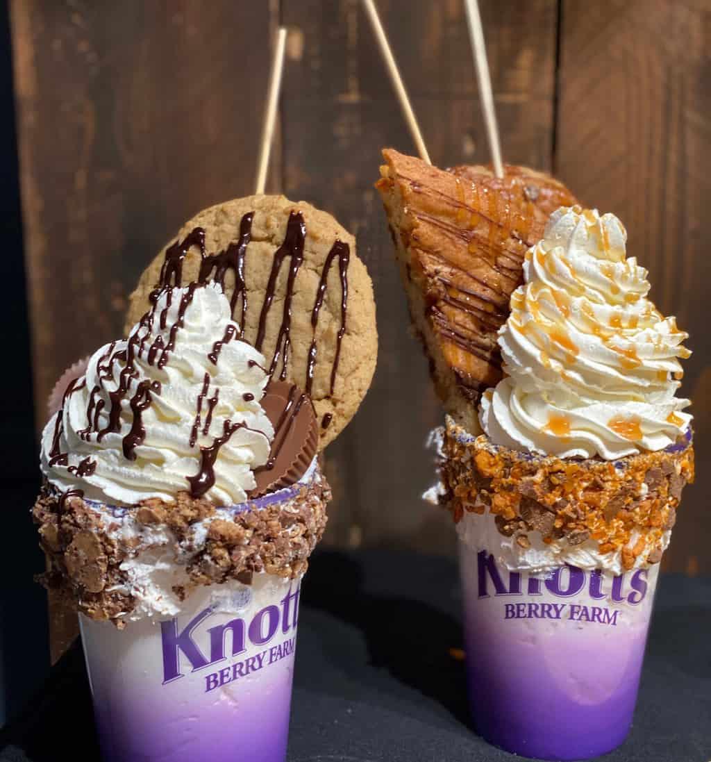 Knotts Peanut Celebration Food