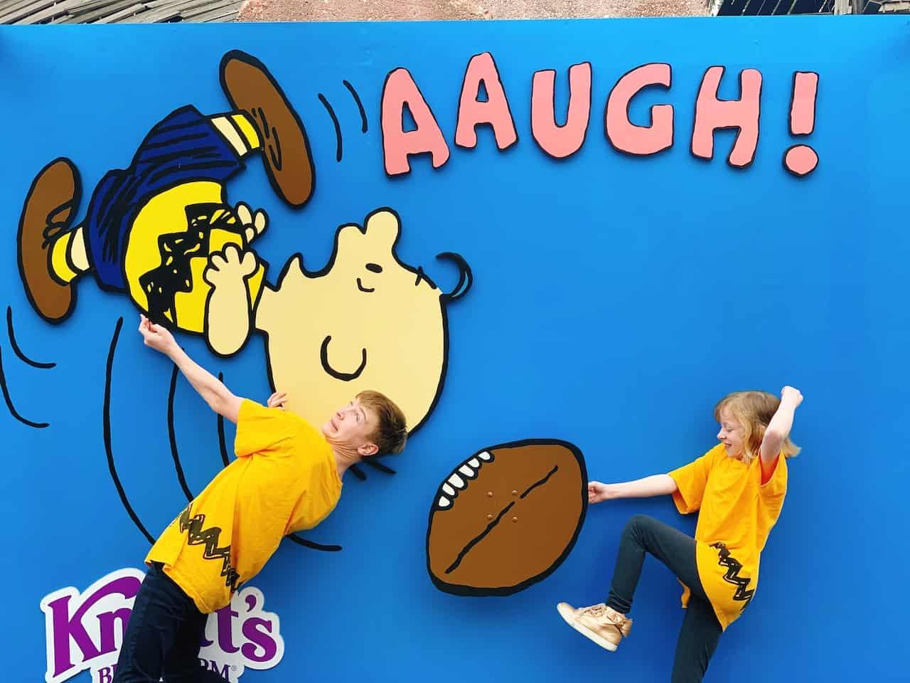 Kids at 2020 PEANUTS Celebration at Knott's