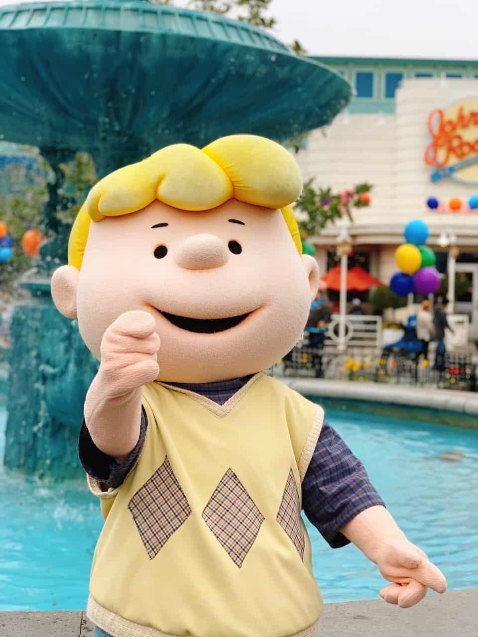 Knotts Peanuts Celebration in Buena Park