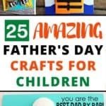 25 Father's Day Crafts for Children to Make