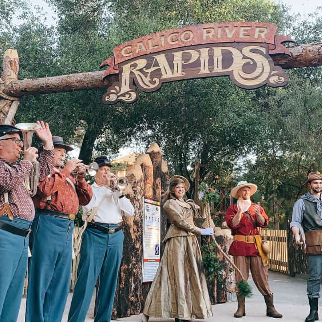 grand opening of Calico River Rapids at Knott's Berry Farm