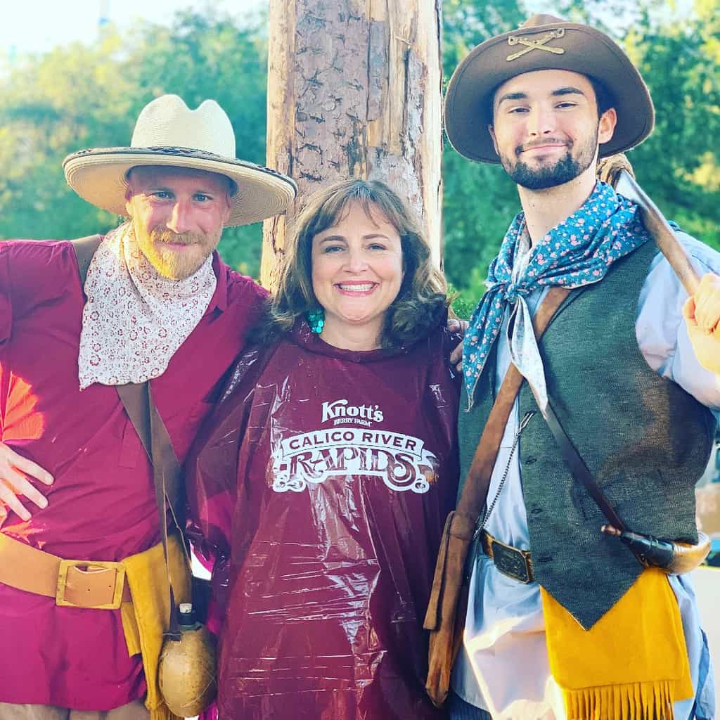 Buy a poncho for Calico River Rapids at Knott's Berry Farm