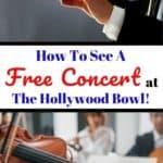 Do you love classical music? Learn how to attend a free concert rehearsal at the Hollywood Bowl in Los Angeles without having to pay the price of a ticket. #travel #hollywoodbowl #la #losangeles #travelphotography #hollywood #music #classicalmusic #laphil