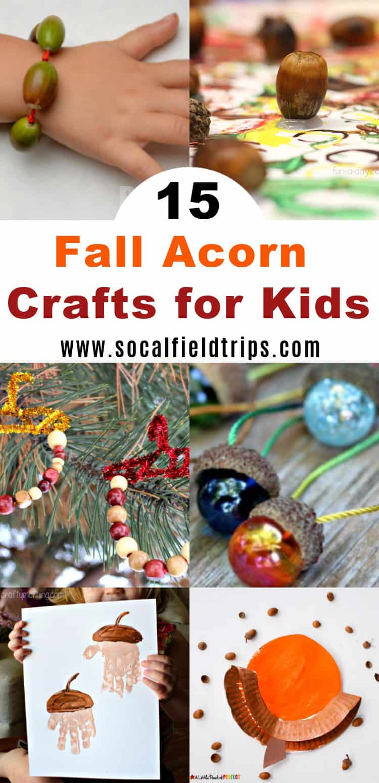 15 easy fall acorn crafts for kids