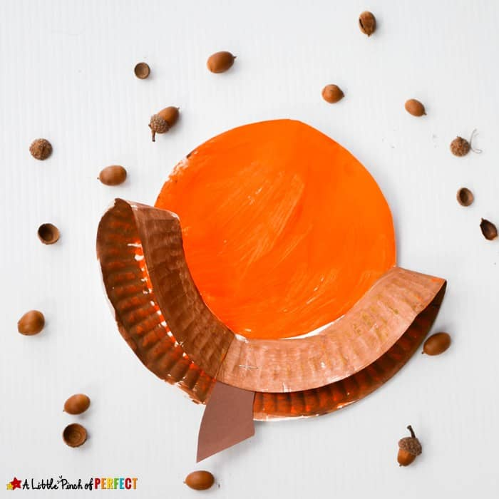 Easy Acorn Craft for Preschool