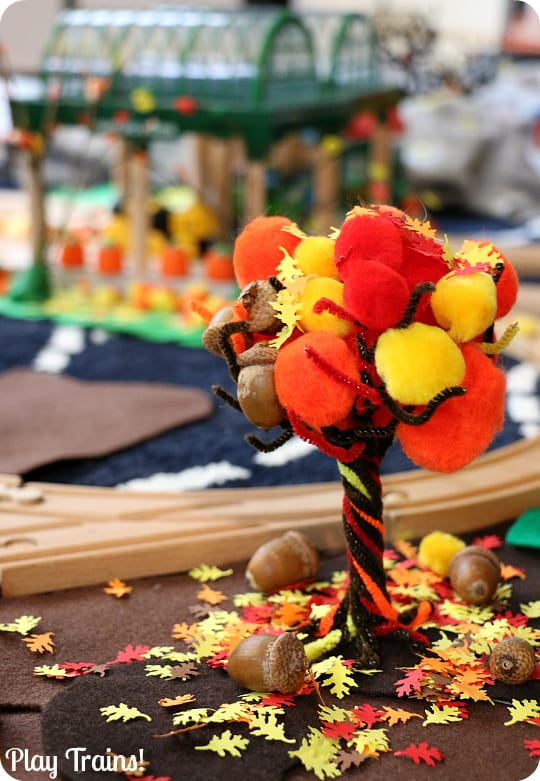 Easy fall tree craft for kids
