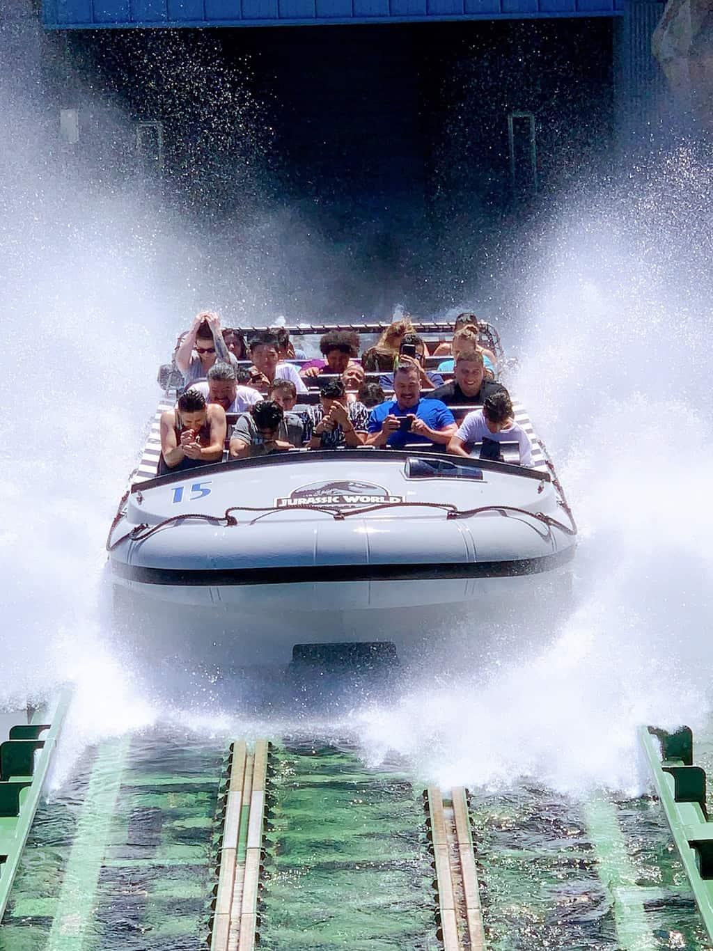 Jurassic World The Ride Universal Studios Hollywood