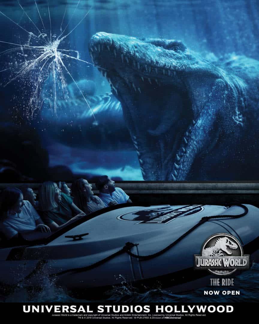 Inside Jurassic World The Ride
