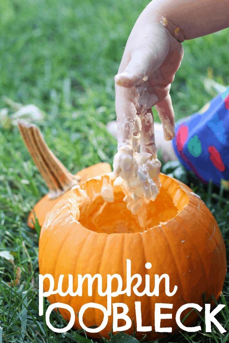 Pumpkin Oobleck Recipe For Halloween