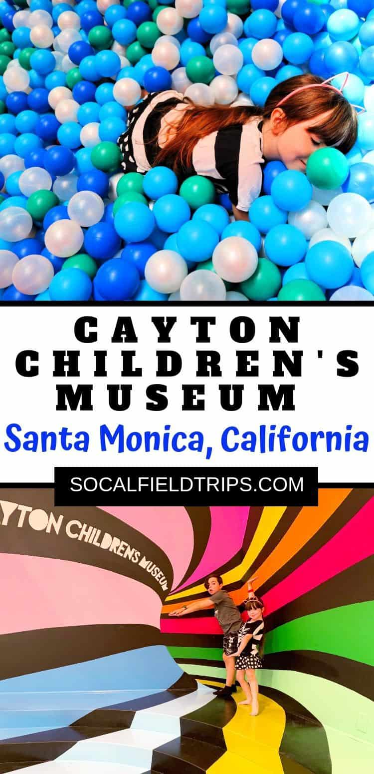 Are you looking for a fun family outing in the Los Angeles area? Visit Cayton Children's Museum in Santa Monica! The new museum, complete with 21,000 square feet of fun and discovery for children, has many hands-on exhibits, and is be open 7 days per week. #la #losangeles #familytravel #travelblogger #travelgram #santamonica #caytonmuseum