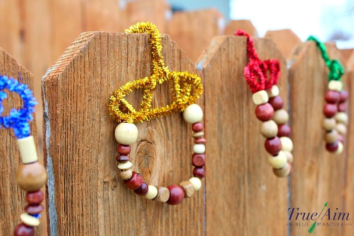 handmade acorn craft for kids