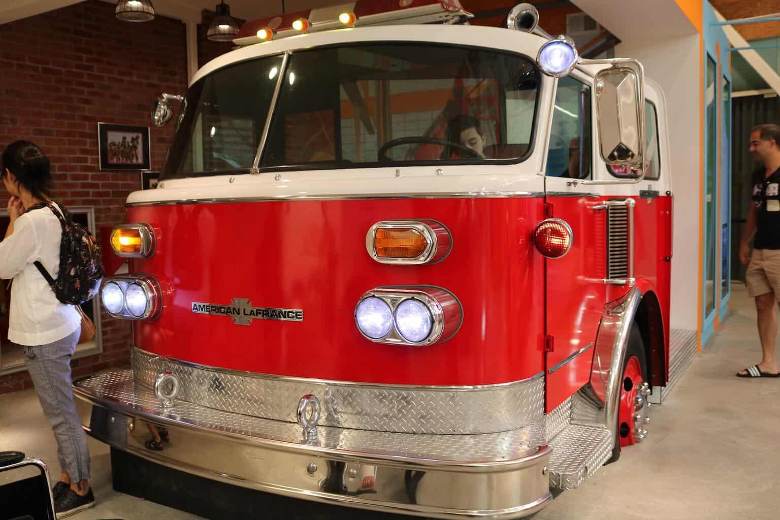 Fire truck at Cayton Children's Museum in Santa Monica
