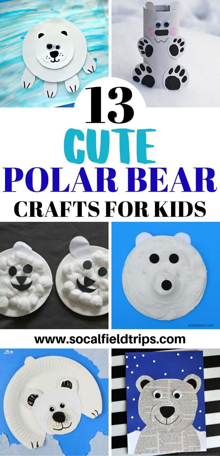 Kids polar bear craft ideas