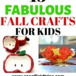 From making an apple stamped banner to a leaf suncatcher to a fall handprint tree craft, these 15 Fabulous Fall Crafts For Kids are precisely what you need to start this fall off right!