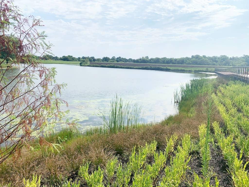 Lake Bentonville in Arkansas
