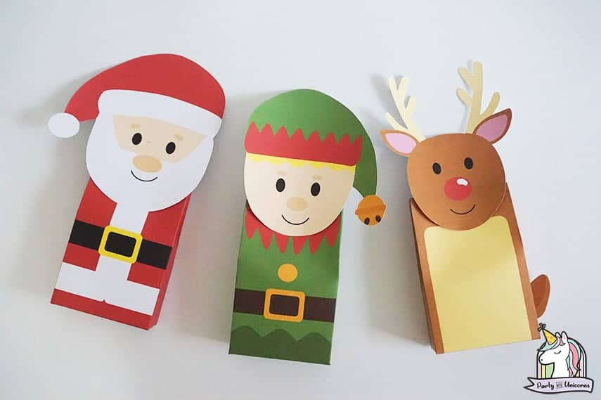 DIY christmas bags