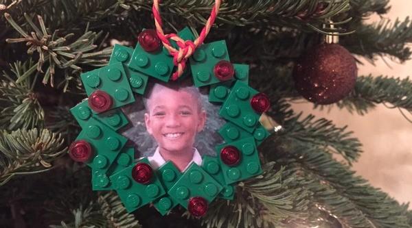 LEGO Christmas craft