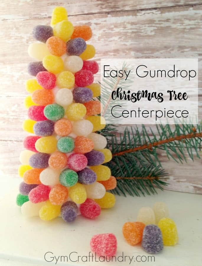 Christmas tree craft for children