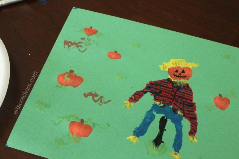 Easy Handprint Art For Kids