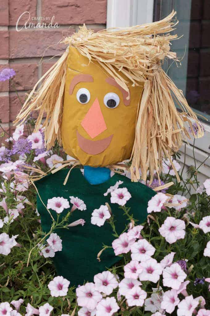 Fall Scarecrow Craft Idea