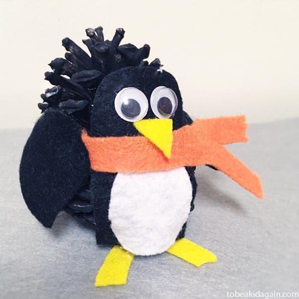 easy penguin craft for kids
