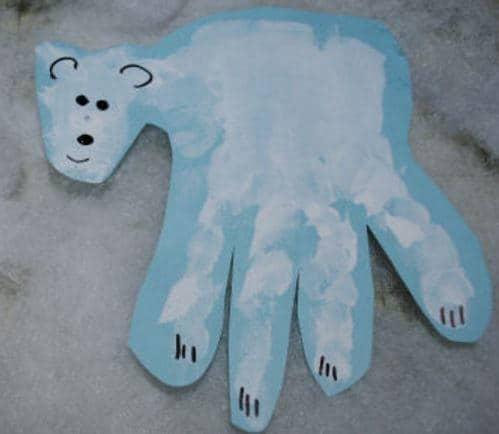 Toddler Hand Craft Idea