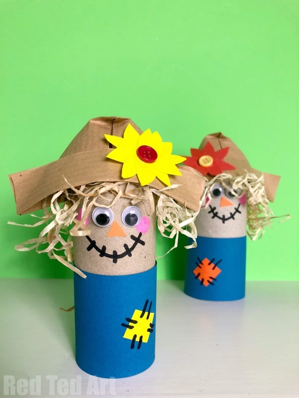 childrens scarecrow craft