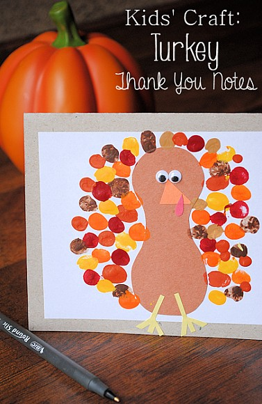 Turkey Preschool Craft for Kids
