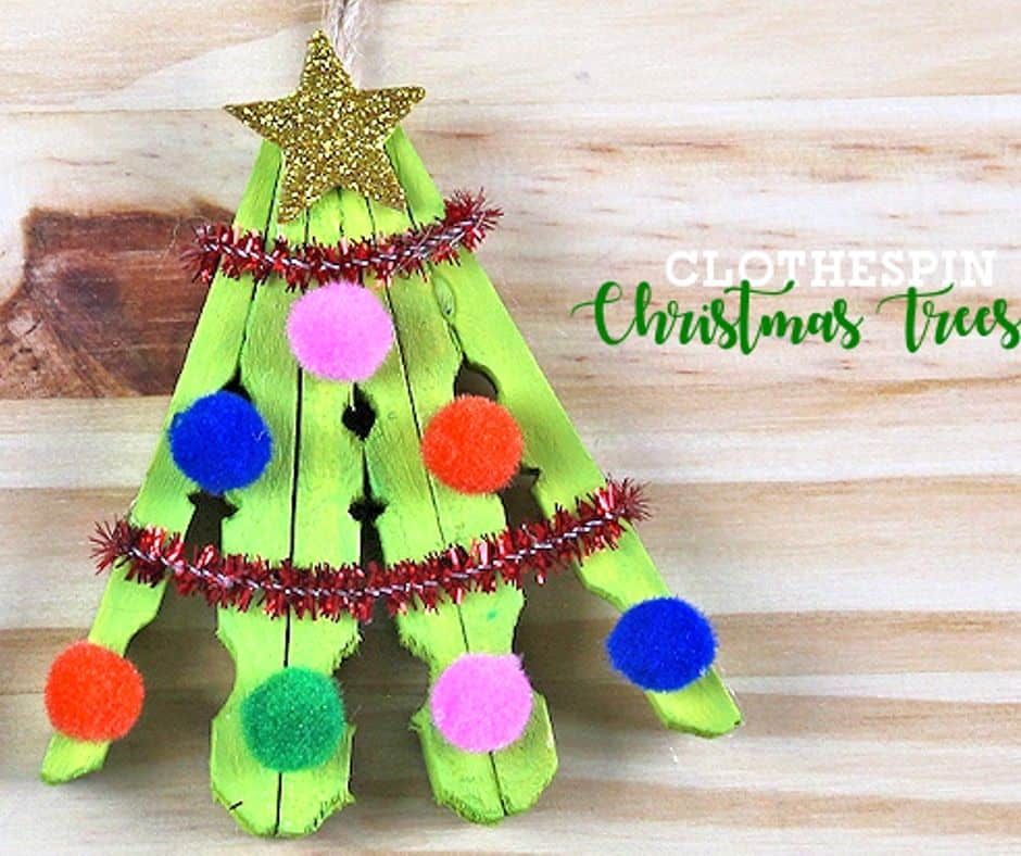 cute christmas tree craft