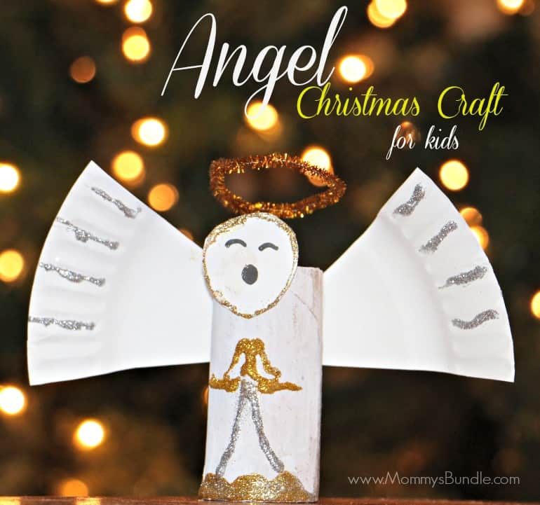 angel christmas craft for kids