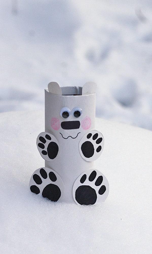 easy polar bear craft