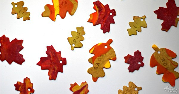 Children's Leaf Craft For Fall