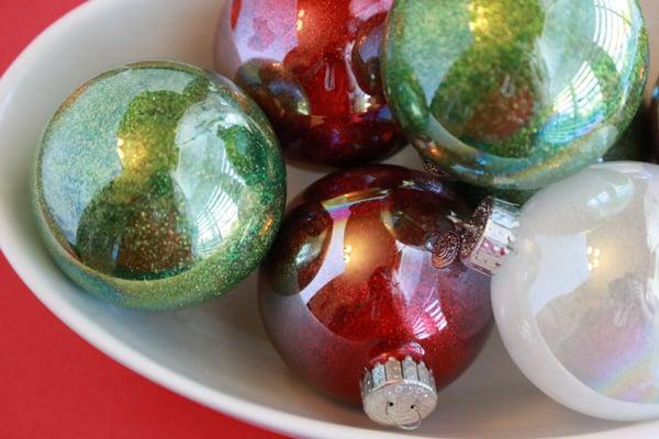 glitter ornaments for kids
