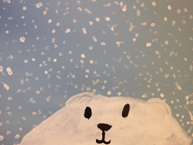 easy polar bear craft