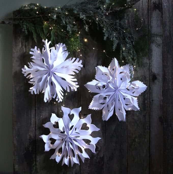 Snowflake Craft Idea