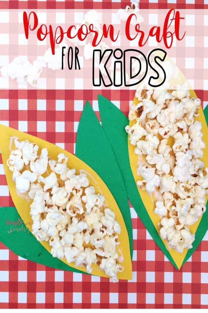 Fall kids craft idea