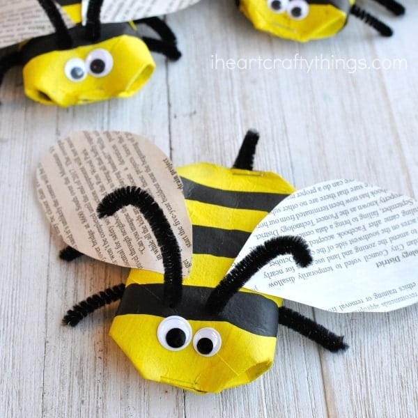 Children's Bee Craft Idea