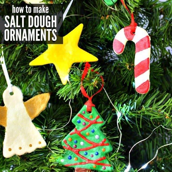 Salt dough craft ideas