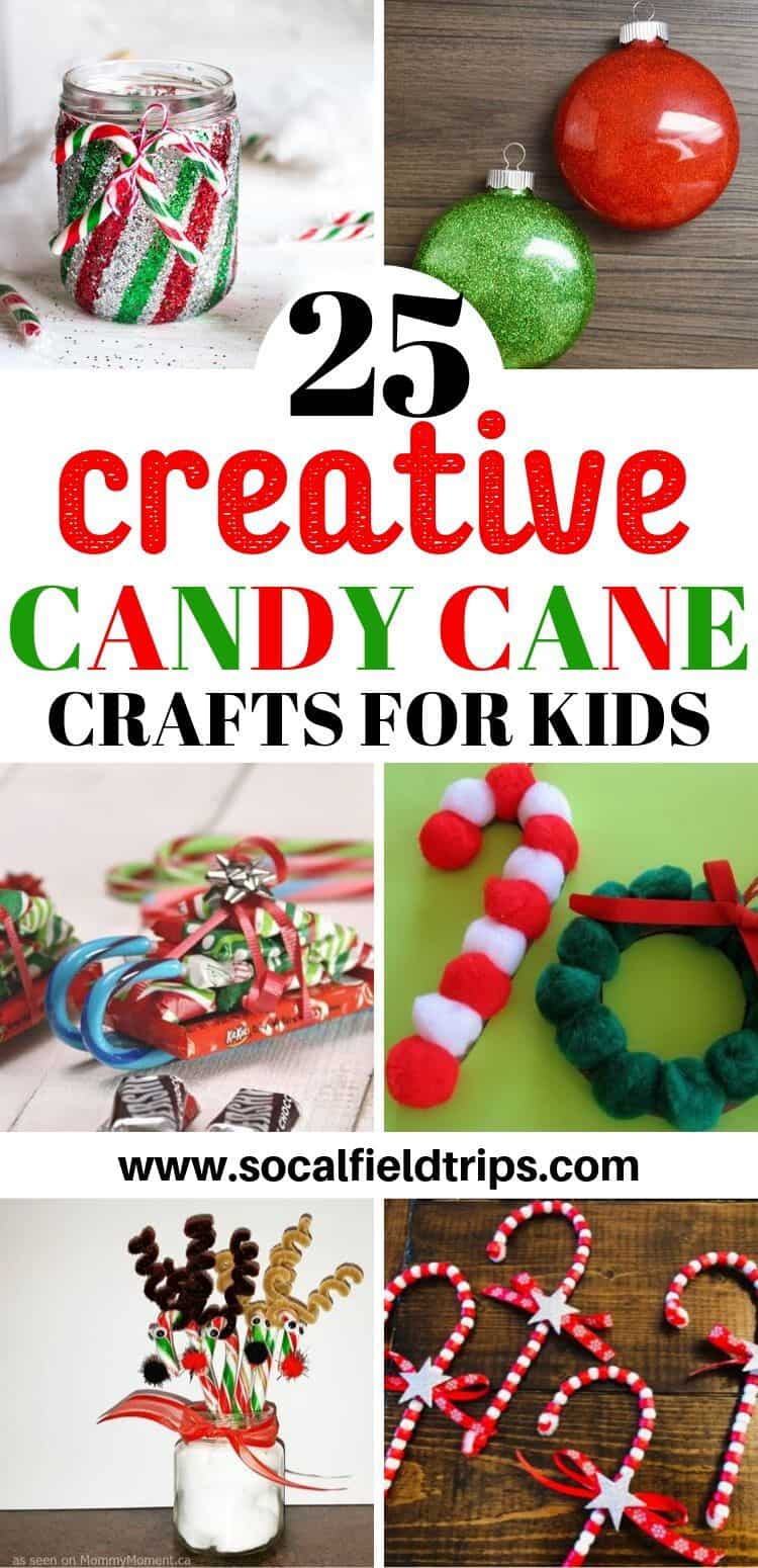 25 Creative Candy Cane Crafts For Kids Socal Field Trips