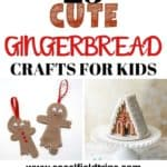 Do you remember the sweet aroma of freshly baked gingerbread cookies coming from your grandma's kitchen during Christmas time? These 25 Cute Gingerbread Crafts For Kids will take you back to those moments in time and help you create new ones with your own family. Each one of these gingerbread crafts offers something different and are ideal for all ages, including adults. #gingerbread #christmas #kidcraft #christmascraft #diy #preschoolcraft #toddlercraft #adultcraft