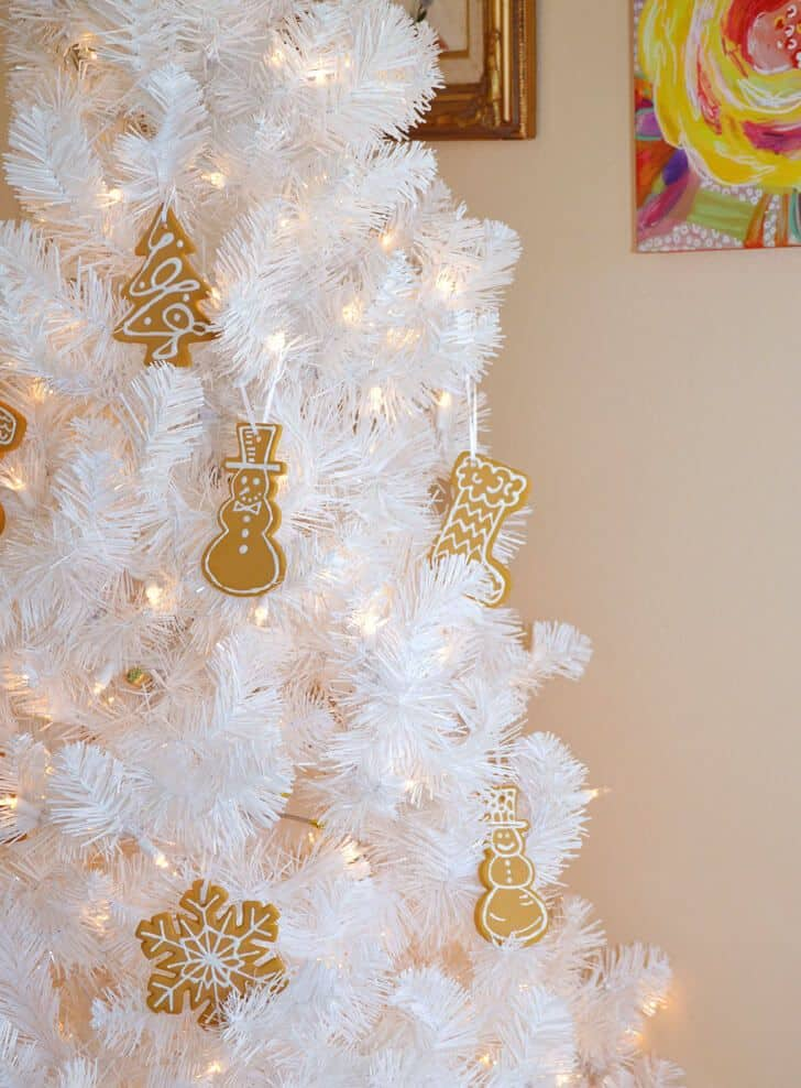 easy gingerbread christmas craft