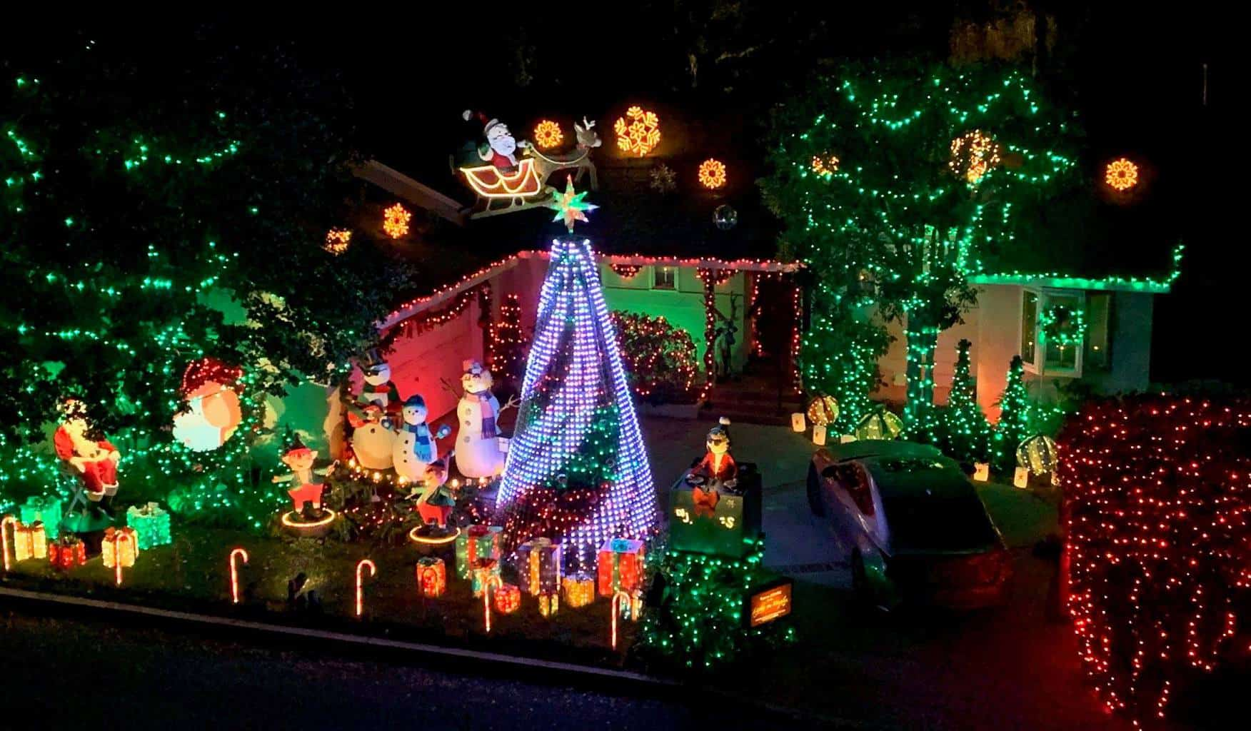 Best Christmas Lights in San Fernando Valley