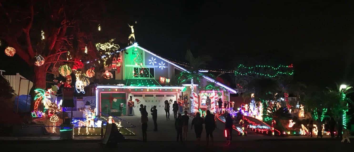 Carlsbad Christmas House San Diego